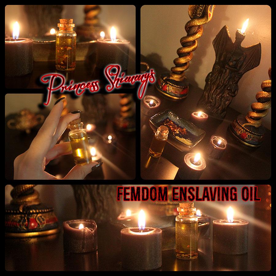 Femdom Enslaving Oil
